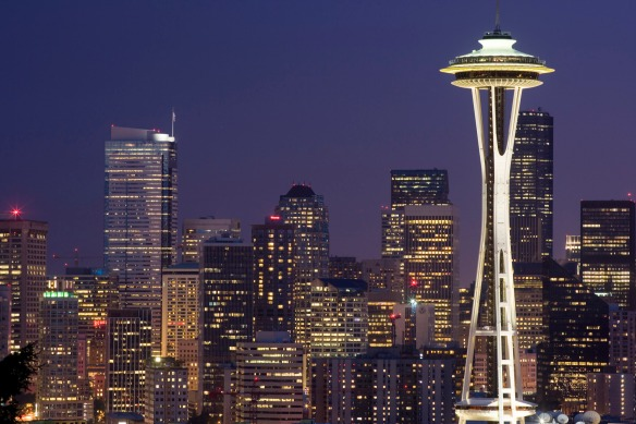 Seattle-skyline-USA-top-10-travel